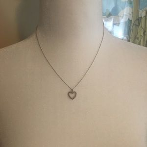 14k Chain Heart Necklace